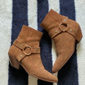 Saint Laurent Strap Ankle Boot